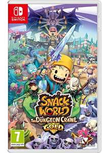 SNACK WORLD The Dungeon Crawl - Gold (Nintendo Switch) £29.85 delivered at Base