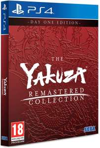 Yakuza Remastered Collection: Day One Edition (PS4) £34.99 Delivered @ Amazon