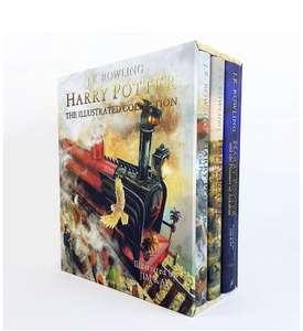 Harry Potter - The Illustrated Collection: Three magical classics Hardcover £40.76 Amazon