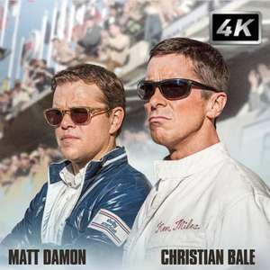 Le Mans '66 4K film rental £2.49 (using new account 50% discount) @ Chili