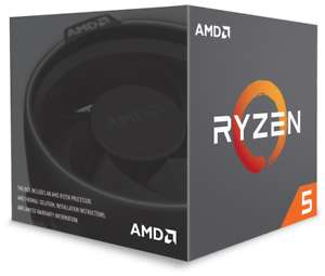 AMD Ryzen 5 2600X 3.6GHz, 4.25GHz Turbo, 6 Core 12 threads (Socket AM4) CPU With Wraith Spire Cooler - £112.57 With Code at CClonline / eBay