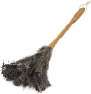 Addis Super Soft Real Ostrich Feather Duster Bamboo Handle £7.49 (Prime) + £4.49 (non Prime) at Amazon