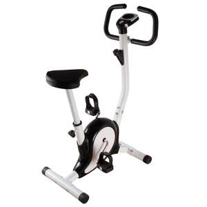 Foldable Exercise bike - £47.99 with code + £4.99 Delivery @ Coopers of Stortford