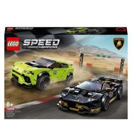 LEGO 76899 Speed Champions Lamborghini Urus ST-X and Lamborghini Huracan Super Trofeo £43.99 delivered using code @ Bargainmax