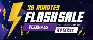 30 Minute Flash Sale @ Gamivo from 5pm - 20% of all products using code
