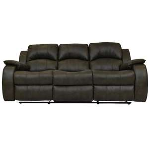 Danube 3 Seater Sofa (Manual Recliner) - £299 delivered @ NCF Living