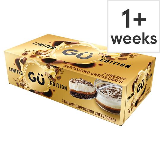 Gu Creamy Cappuccino Cheesecake 2X85g - £2 @ Tesco
