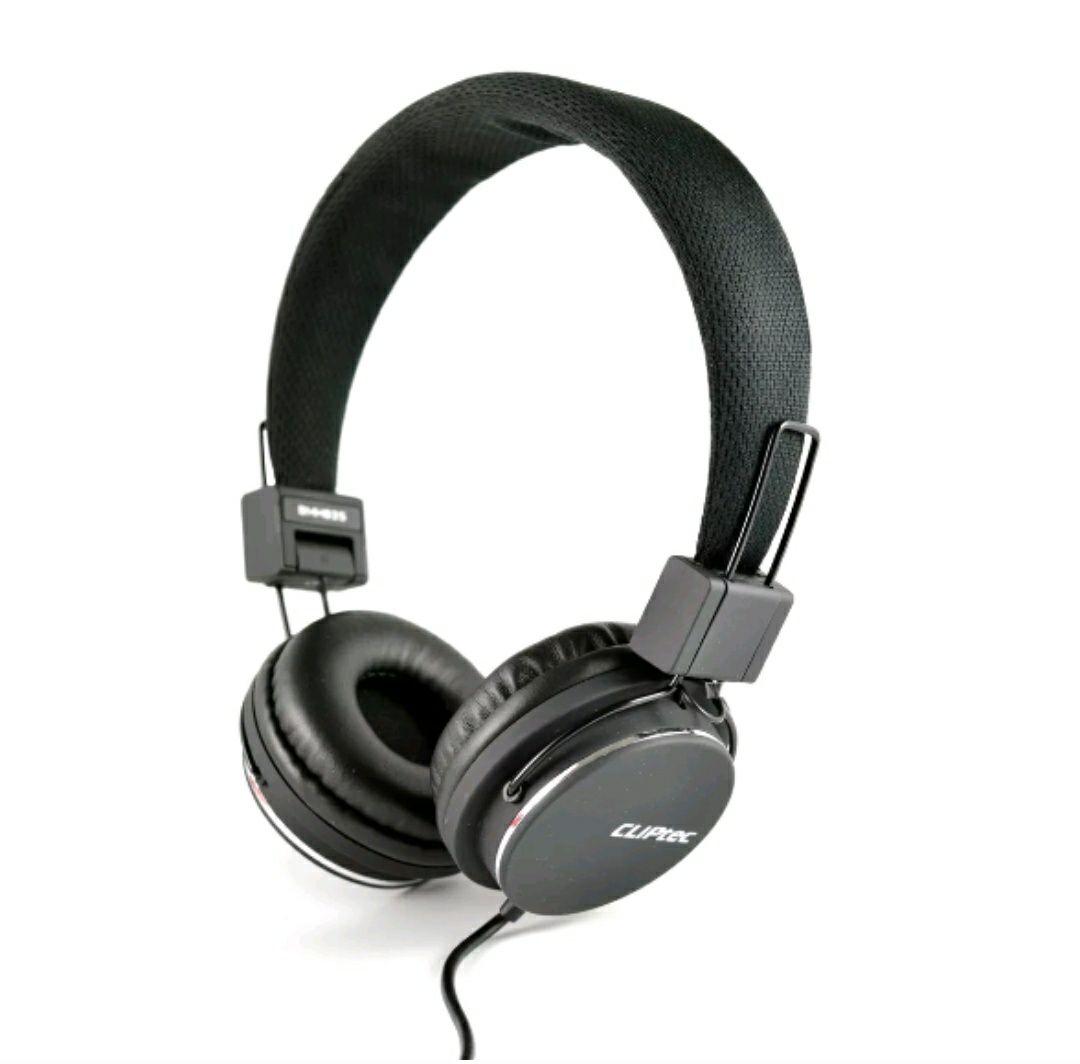 CLiPtec BMH835 URBAN REACTION Dynamic Stereo Multimedia Headset Headphones Black £8.92 @ Directcal Ebay