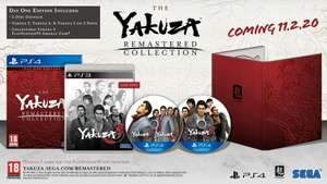 Yakuza remastered collection day 1 edition ps4 for £34.99 + £4.99 at game delivered
