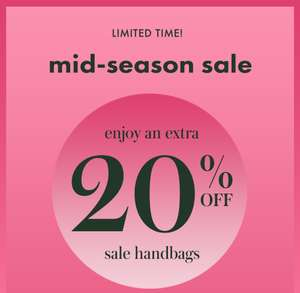 Kate Spade - now take an extra 20% off sale handbags