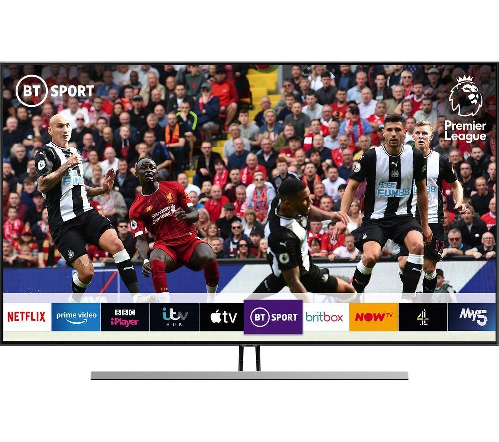 "SAMSUNG QE55Q85RATXXU 55"" Smart 4K Ultra HD HDR QLED TV with Bixby £999 at Currys"