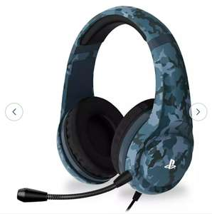 4gamers Officially Licensed PRO4-70 PS4 Headset - Midnight Camo £23.94 Delivered @ Argos