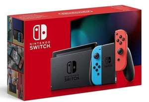 Nintendo Switch Neon Red and Blue Console - £279.99 + Free Delivery With Code at Studio