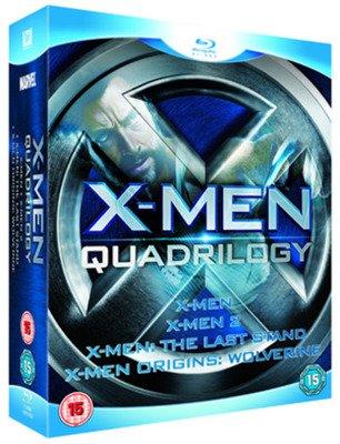 X-Men Quadrilogy (Blu-ray) 4-film boxset Used £2.69 Delivered @ Music Magpie