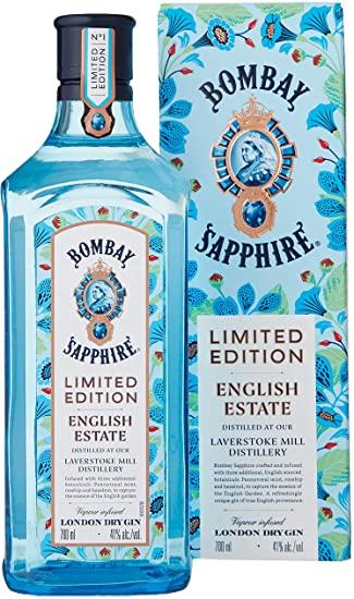 Bombay Sapphire English Estate Limited Edition Gin, 70cl £17.85 (Prime) £22.34 (non Prime) at Amazon