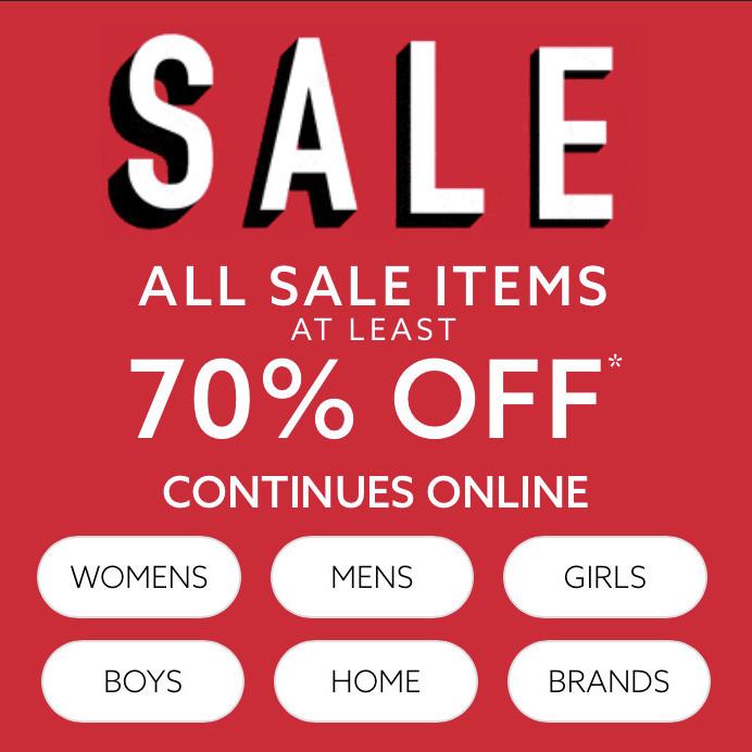 Next Online Sale 70% off