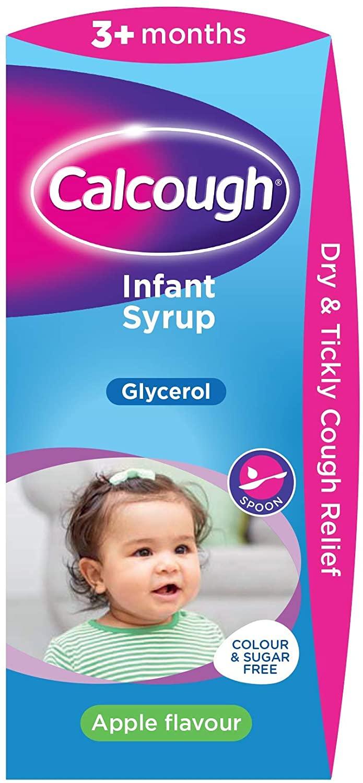 Calcough Infant Syrup Apple Flavour, 125 ml - £2.85 S&S / £3 at Amazon Prime / £7.49 Non Prime
