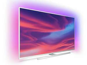 """Philips 50PUS7334 50"""" Smart Ambilight 4K Ultra HD Android TV with HDR10+, Dolby Vision, Dolby Atmos £429 / £419 With New User Sign Up @ Ao"""