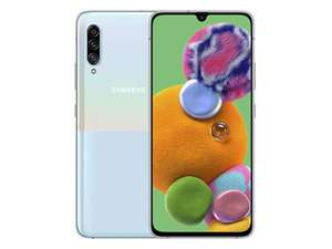 Samsung Galaxy A90 5G 128GB White - £339.15 Delivered (£259.15 with cashback) @ Samsung Store / Samsung Perks