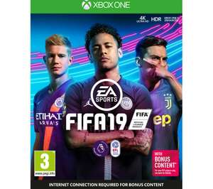 [XBOX ONE] FIFA 19 + Free 6 month Spotify Premium subscription for new Premium accounts - £7.97 @ Currys