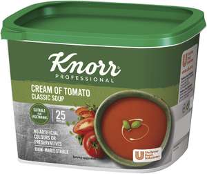 Knorr Classic Tomato/Chicken/Vegetable/Minestrone Soup Mix, 25 Portions (Makes 4.25L) £6.17 (+£4.49 Non Prime) at Amazon (£5.86 with S&S)