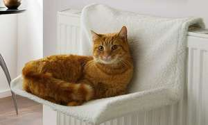 Cat Radiator Bed White, £7.98 delivered at Groupon