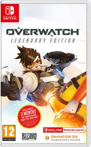Overwatch Legendary Edition Nintendo Switch at Argos for £20.44 delivered