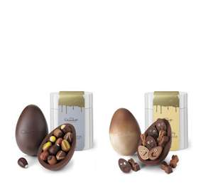 Hotel Chocolat Set of 2 Extra Thick Filled Easter Eggs £39.98 at QVC