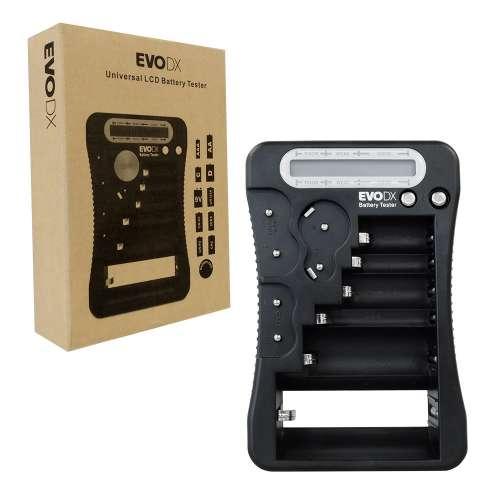 EvoDX Battery Tester LCD Digital Multi Universal All Popular Battery Types, £4.99 delivered at 7dayshop