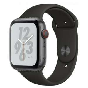 Apple Watch Nike+ Series 4 44mm Space grey (Refurb - Good) £234.99 delivered using code @ eBay / Music Magpie