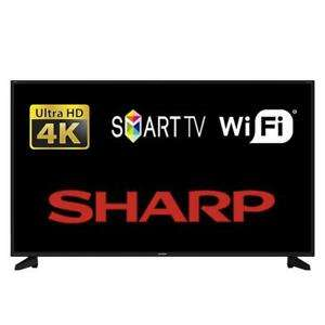 "Sharp 50"" Smart LED TV 4K Ultra HD (refurbished) £268 sold and delivered by Tesco Outlet Ebay"