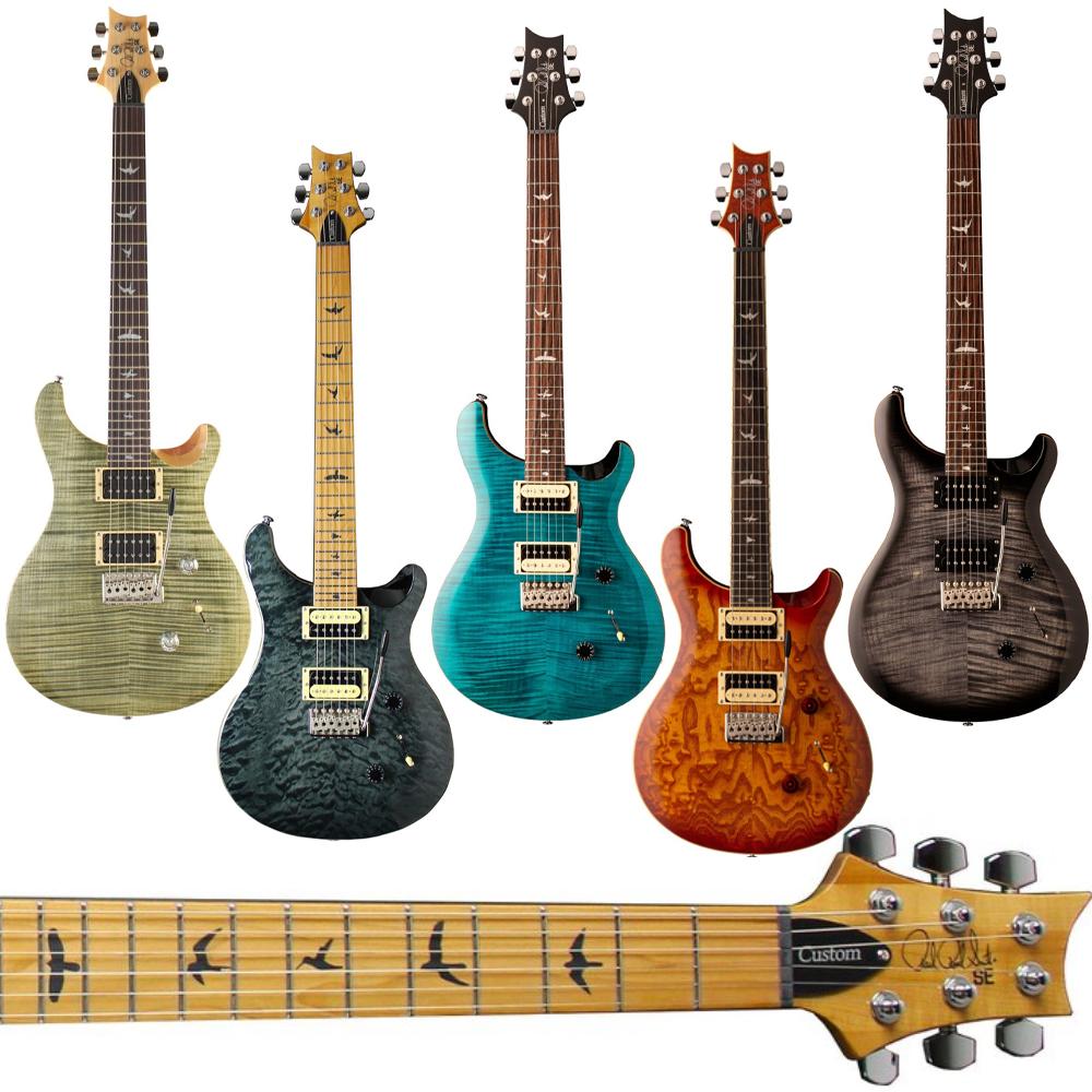 PRS SE Custom 24 - Electric Guitars - £639.20 Delivered - EG: Limited Edition Roasted Maple / Burled Ash Vintage Sunburst @ Guitar Village