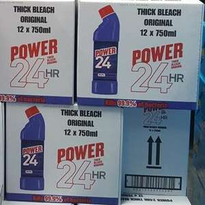 Power 24hr Thick Bleach 12 x 750ml £4.18 at Costco (Purley)
