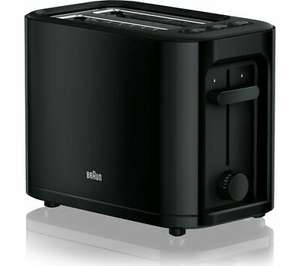 BRAUN Series 3 PurEase HT3000.BK 2-Slice Toaster - Black DAMAGED BOX - delivered using code for £21.09 at Currys/Ebay