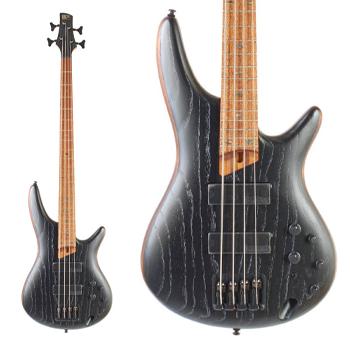 Ibanez Electric Bass Guitar - SR670-SKF - Silver Wave Black Flat - £511.20 Delivered @ Guitar Village