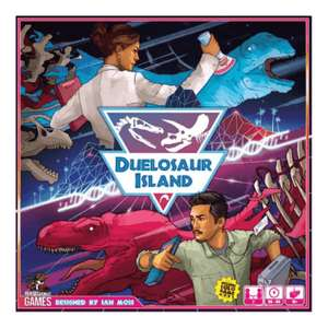 Dinosaur Island - two players board game £19.11 delivered at Chaos Cards