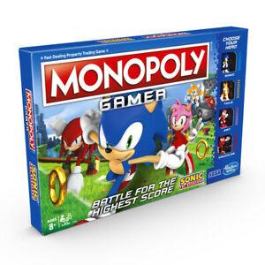 Monopoly Gamer Sonic the Hedgehog Edition Board Game £17.99 delivered @ WindsweptToys / ebay