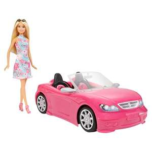 Barbie Convertible Car & Doll £15 @ Tesco (Min basket £40 + up to £4 delivery)