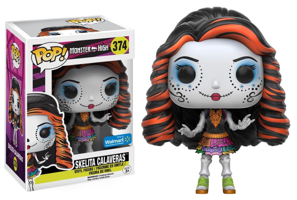 Monster High 11617 FUNKO POP Vinyl Skelita Calaveras Figure £2.95 (Prime) £7.94 (Non Prime) @ Amazon