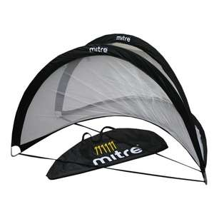 Mitre Foldable Goal Set - Medium £23.50 / Large £28.50 + Free Delivery (PLUS Get two footballs for £10) @ Mitre