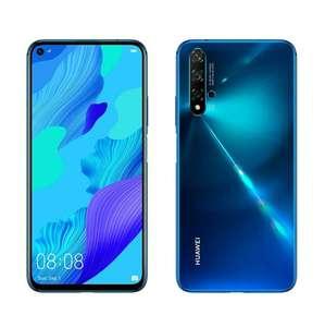 "Huawei Nova 5T 128GB 6.26"" LCD Display Smartphone £279.99/£199.99 With Huawei Cashback @ Livewire Telecom Limited FB Amazon"