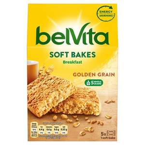 Belvita Breakfast Items £1.39 @ Tesco - E.G Soft Bakes Golden Grain 250G