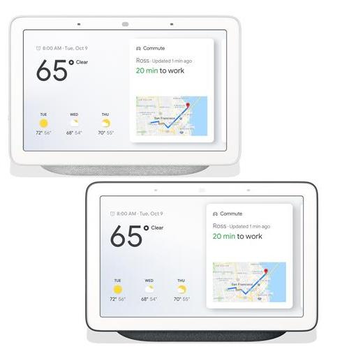 Google Nest Hub - Charcoal or Chalk - £59 Each Delivered @ BT