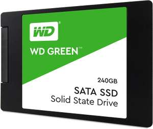 Western Digital Green 240GB Internal SSD 2.5 Inch SATA - £24.99 (120GB - £17.99) + 3 Year Warranty @ Amazon