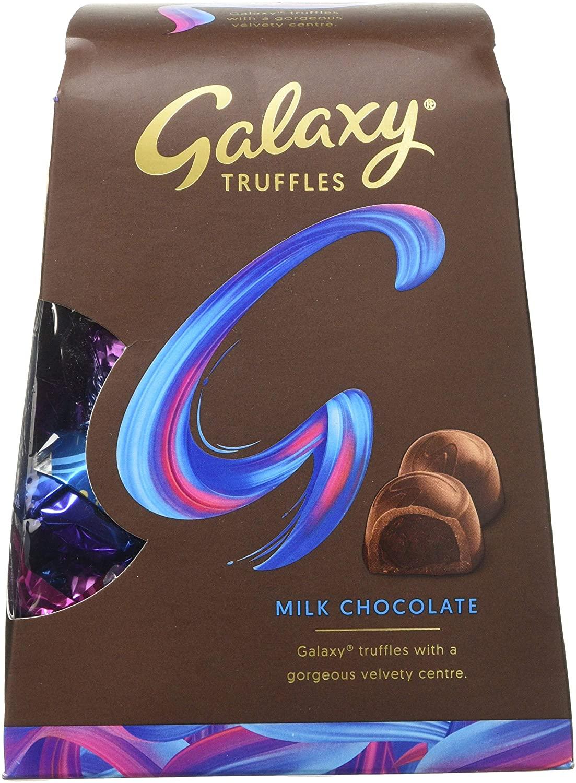 Galaxy Truffles Chocolate Medium Gift Box, 206 g (Pack of 4) £3.50 + £4.49 NP @ Amazon