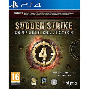 Sudden Strike 4: Complete Collection on PS4 - £12.99 / Xbox One - £14.99 delivered @ Coolshop