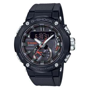 Casio G-Shock G-Steel Carbon Core Guard Bluetooth Tough Solar Resin Strap Watch £149 delivered at Beaverbooks