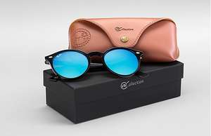 Ray-Ban RB2180 @COLLECTION LENSES: Blue Gradient Flash - £70 @ Ray-Ban