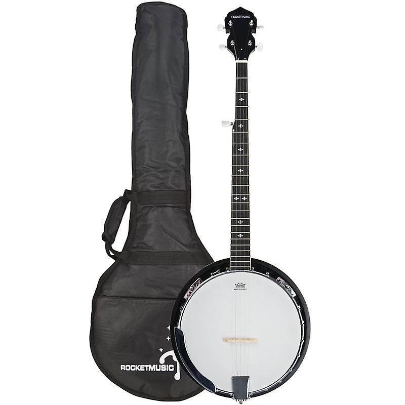 Rocket Deluxe western 5-string banjo with gig bag for £130 express delivery @ Fruugo