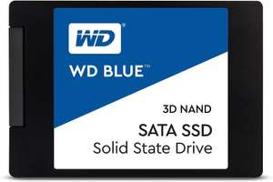 500GB WD Blue 3D NAND Internal SSD 2.5 Inch SATA, £53.34 at Amazon